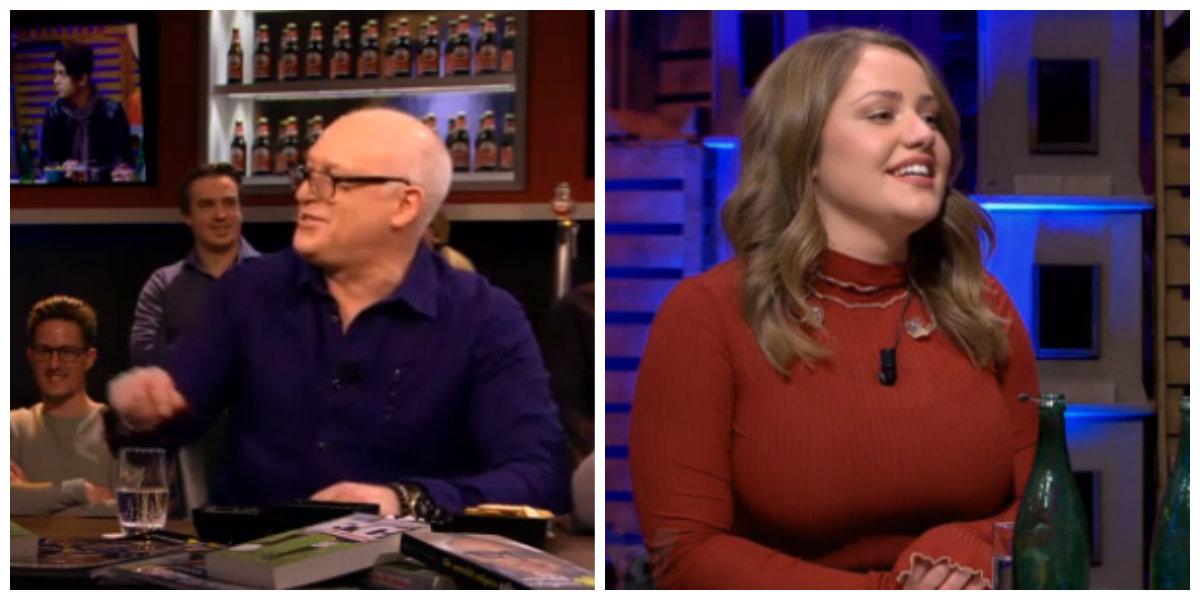 Nieuws co ren van der gijp maakt de boezem van the voice kandidaat pleun bierboom belachelijk for Van de tv