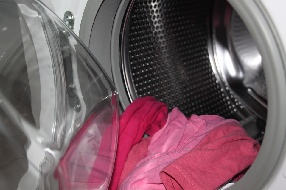 Voedsel wasmachine